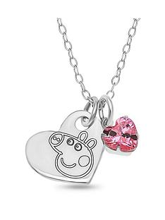 peppa-pig-personalised-sterling-silver-peppa-pig-childrens-heart-pendant-necklace-with-pink-charm-in-gift-box