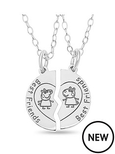 peppa-pig-sterling-silver-peppa-pig-childrens-peppa-and-suzy-best-friends-set-of-2-pendant-necklaces