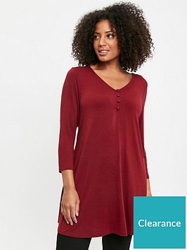 evans-button-detail-swing-tunic-berry