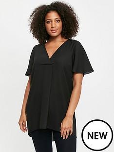 evans-drape-cross-front-top-black