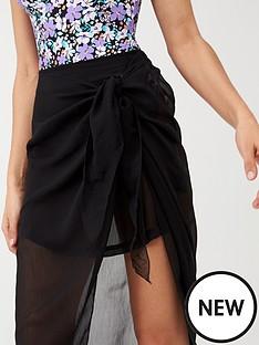 v-by-very-chiffon-sarong-skirt-black