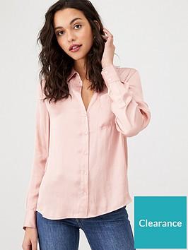 warehouse-oversize-satin-shirt-blush