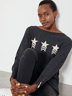 mint-velvet-star-front-motif-batwing-jumper-charcoal