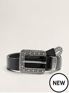 mango-alicante-western-buckle-belt