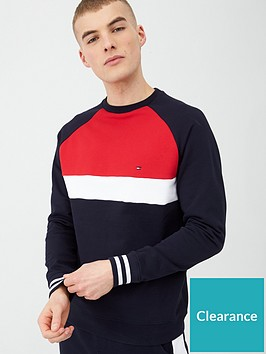 tommy-hilfiger-colourblock-sweatshirt-desert-sky-navy