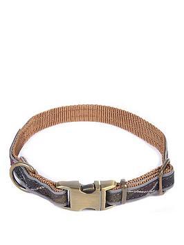 barbour-reflective-tartan-dog-collar