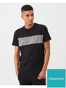 v-by-very-check-panel-crew-neck-t-shirt-black