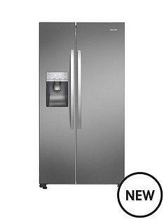 hisense-total-no-frost-american-fridge-freezer-ssl-with-water-ice-dispenser-plumbed-option