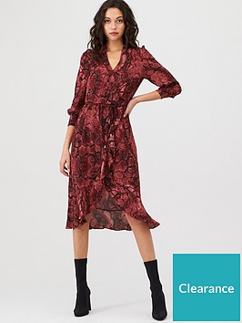 oasis-snake-midi-wrap-dress