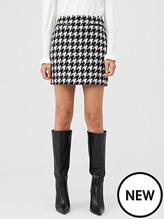 oasis-oasis-dogtooth-mini-skirt-multi