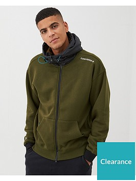 converse-mixed-media-midweight-full-zip-hoodie-olive