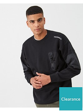 converse-mixed-media-ripstop-crew-sweatshirt-black