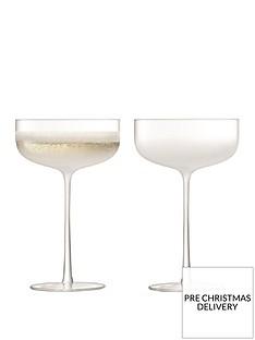 lsa-international-champagnecocktail-saucer-glasses-ndash-set-of-2
