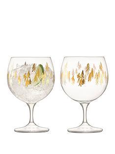 lsa-international-fir-metallic-handmade-balloon-glasses-ndash-set-of-2