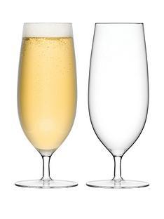 lsa-international-bar-handmade-pilsner-glasses-ndash-set-of-2