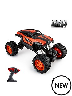 112-scale-monster-truck-adjustable-chassis-orange