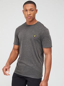 lyle-scott-fitness-martin-short-sleeved-t-shirt-charcoal