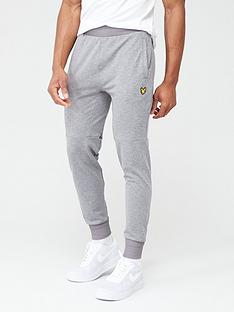 lyle-scott-fitness-superwick-track-pants-mid-grey-marl