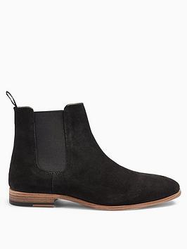 topman-topman-fenn-suede-chelsea-boots-black