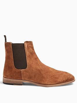 topman-topman-fenn-suede-chelsea-boots-tan