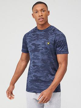 lyle-scott-fitness-camo-sports-t-shirt-graphite