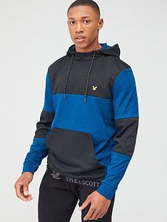 lyle-scott-fitness-colour-breaker-mid-layer-hoodie-blue-marl