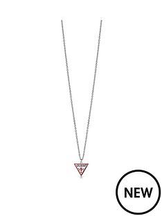 guess-retro-triangle-pendant-necklace