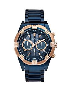 guess-guess-jolt-blue-and-rose-gold-detail-chronograph-dial-blue-ip-stainless-steel-bracelet-watch
