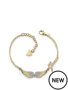 guess-guess-gold-tone-angel-wings-logo-bracelet