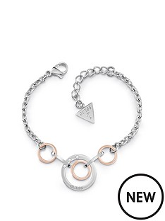 guess-guess-rose-gold-and-silver-tone-logo-circle-bracelet