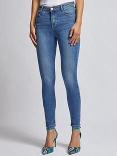 dorothy-perkins-dorothy-perkins-mid-wash-shape-and-lift-jeans-blue