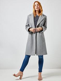 dorothy-perkins-dorothy-perkins-patch-pocket-wrap-coat-grey