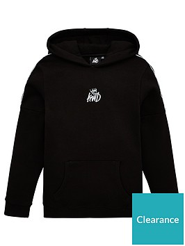 kings-will-dream-boys-haddon-reflective-overhead-hoodie-black