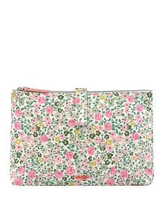 cath-kidston-cath-kidston-hedge-rose-2-part-zipped-wash-bag
