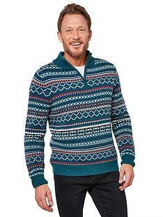 joe-browns-perfect-pattern-funnel-neck-jumper-tealmulti