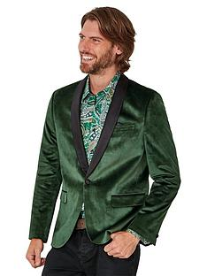 joe-browns-deadly-dapper-blazer-green