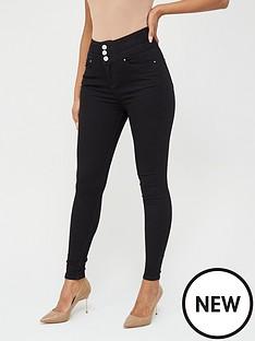 v-by-very-macy-high-waistnbspskinny-jean--nbsp-black