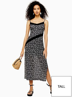 topshop-tall-lace-insert-mesh-midi-dress-black