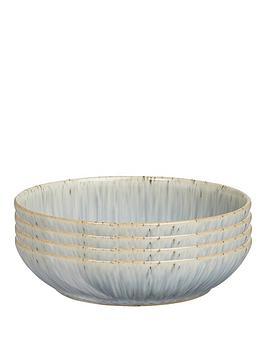 denby-halo-grey-speckle-set-of-4-pasta-bowls