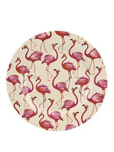 portmeirion-sara-miller-flamingo-melamine-dinner-plates-set-of-4
