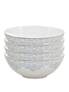 monsoon-denby-filigree-silver-cereal-bowls-ndash-set-of-4