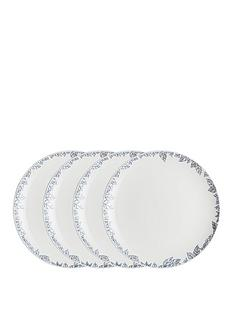 monsoon-denby-fleur-set-of-4-dinner-plates