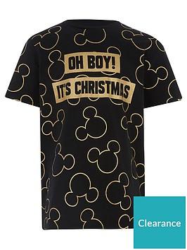 river-island-mini-boys-mickey-mouse-christmas-t-shirt-black