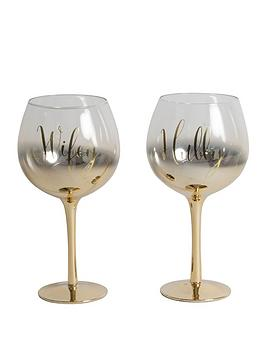 always-amp-forever-set-of-2-gold-ombre-gin-glasses-hubbywifey