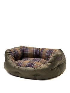 barbour-quilted-dog-bed