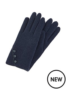 accessorize-wool-glove-with-buttons-navy