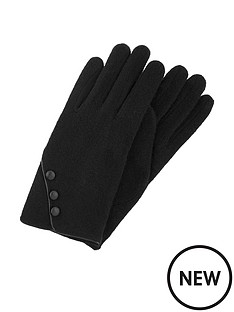 accessorize-wool-glove-with-buttons-black