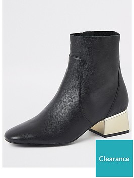 river-island-river-island-wide-fit-heel-detail-leather-ankle-boot-black
