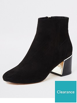 river-island-river-island-faux-suede-block-heel-ankle-boot-black