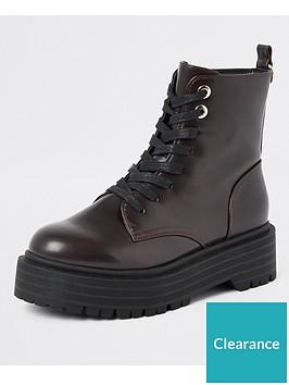 river-island-river-island-chunky-flatform-lace-up-boots-burgundy